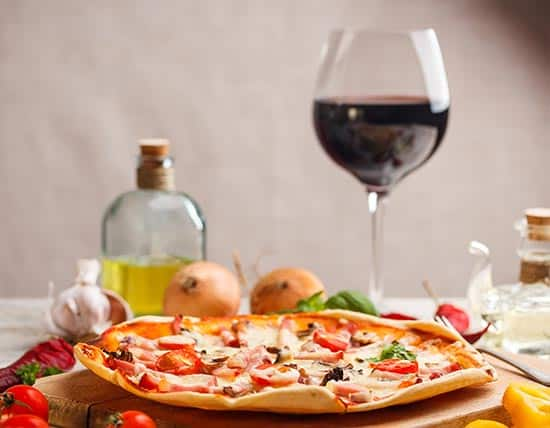 Pizza-Wine-Before